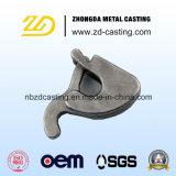 Soem-Stahl, der geschweißt wird und sich fortbewegende Zubehör gestempelt ist