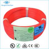 Cable térmico eléctrico del alambre del Teflon resistente de alta temperatura