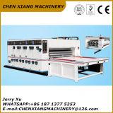 A impressora Chain Slotter do papel ondulado da cor do alimentador 2 e morre o cortador