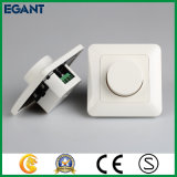 단 하나 색깔 유럽 기준 LED 제광기 스위치