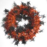 Металлическая гирлянда венка для украшения Halloween