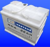 D'acide de plomb avec la batterie chargée sèche DIN75