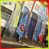 Bandierina su ordinazione della piuma della lama per la pubblicità di evento o esterna o la bandierina di spiaggia