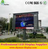 Exposição de diodo emissor de luz ao ar livre de anúncio eletrônica da cor cheia