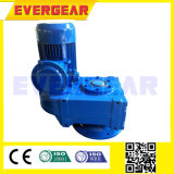 Коробка передач мотора уменьшения вала параллели винтовой зубчатой передачи серии f спирально с мотором AC