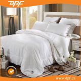 100% seda blanca edredón de alta Standard Hotel (DPF201527)