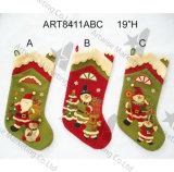クリスマスの装飾グループのストッキング、3asst