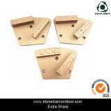 Трапецоиды PCD конкретные для удаления покрытия и меля ботинка