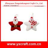 Decoración de Navidad (ZY15Y060-1-2) navidad muñeca de trapo