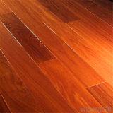 Plancher conçu rouge en bois solide de la pente ab Merbeau Tuan