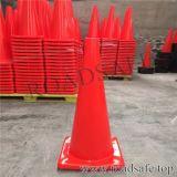 Fabrik-Preis-orange weißes reflektierendes Band-flexibler Verkehr Belüftung-Kegel