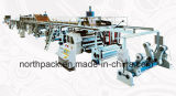 WJ1600-100 trois/cinq/sept manient la chaîne habilement de production de carton ondulé