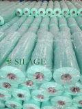 Película verde do envoltório da ensilagem do uso 750mm do contratante de Nova Zelândia com núcleos do PVC