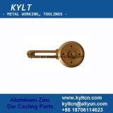 Zamak 또는 아연 알루미늄 금속은 분말 코팅 도금 또는 굽기 색칠을%s 가진 주물 부속을 정지한다