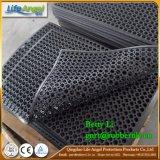 Stuoia di gomma del pavimento di drenaggio di olio del foro rotondo resistente di resistenza
