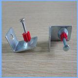 Pin стальных ногтей всхода управляемый с красным буфером