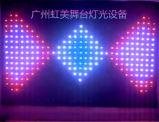 Занавес занавеса СИД зрения P18cm 2*3m RGB видео- для партии диско