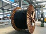 Cabo elétrico isolado alta tensão da potência de XLPE para o cobre do aço inoxidável