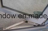 灰色アルミニウム開き窓のWindowsに塗る経済の粉