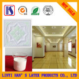 Colle blanche pour le papier d'aluminium de film de PVC de panneau de gypse et