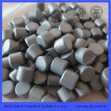 Minería de carburo de tungsteno Botones de botones planos (tipo P)