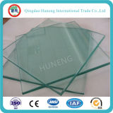 Clear / Bronze / Grey / Blue / Green Tinted e Refletor Float Glass em Hot Sale