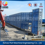 Estructura de azotea prefabricada del diseño de la vertiente de la estructura de acero de la alta calidad