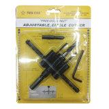Hex Shank Adjustable Circle Hole Cutter (JL-ACH120)