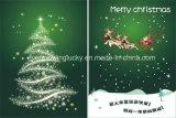 Tarjeta video de la Navidad para el regalo