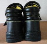 Отсутствие ботинок заварки кожи Mens шнурка сделанных в Китае