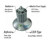 Il prezzo di fabbrica IP65 impermeabilizza l'indicatore luminoso della lampada 200W il LED Highbay del traforo