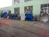 Película plástica Waste dos PP do PE que recicl a linha de produção de secagem de lavagem