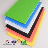 물결 모양 플라스틱 널 색깔에 의하여 주름을 잡은 플라스틱 장을 착색하십시오