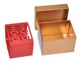 Коробка прямоугольного олова металла подарка упаковывая