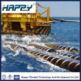 Tubulação de mangueira de borracha de dragagem de flutuação do fuzileiro naval do grande diâmetro