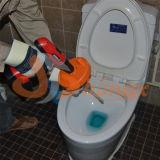 """Drenar o líquido de limpeza 1/4 """" polegada X encanamento portátil do eixo helicoidal do cabo da obstrução da serpente do esgoto de 15 ' FT"""