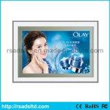 도매 광고 호리호리한 LED 자석 가벼운 상자 표시