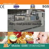 Comida para bebé gêmeo da extrusora de parafuso que faz a máquina