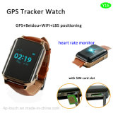 Ältere GPS-Verfolger-Uhr mit Puls-Monitor (Y16)