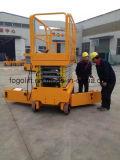 中国の製造業者の移動式自動推進油圧持ち上がるプラットホーム