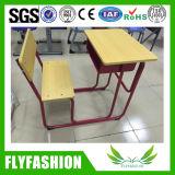 Único banco da sala de aula com a mesa para a mobília de escola (SF-106S)