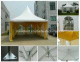 das 5X5m Aluminium-Rahmen schichten Zelt-im Freienpagode-Kabinendach auf