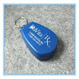 Fördernder Firmenzeichen Customed Geschenk-Schlüsselketten-Pille-Ausschnitt-Medizin-Kasten ausgerüstet mit Edelstahl-Schaufel