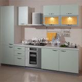 O PVC europeu do estilo enfrentou gabinetes de cozinha