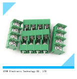 4 carte Mount Type Terminal Block Green de la borne 5mm 7.62mm Pitch 300V 10A