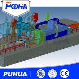 鋼管の鋼板のためのローラーのタイプショットブラスト機械