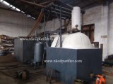 Regeneración inútil del aceite de motor de Jzc, destilería del aceite del vacío