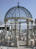 Marble naturale Gazebo per Construction