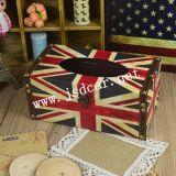 Коробка ткани коробки ткани флага творческая ретро (JSD-P0017)