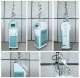 Máquina médica fracionária do laser do CO2 (câmara de ar do RF do metal dos EUA)